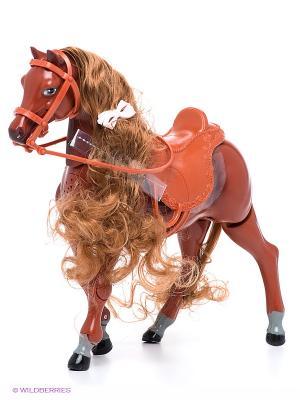 Волшебная лошадка Карапуз. Цвет: коричневый, бледно-розовый