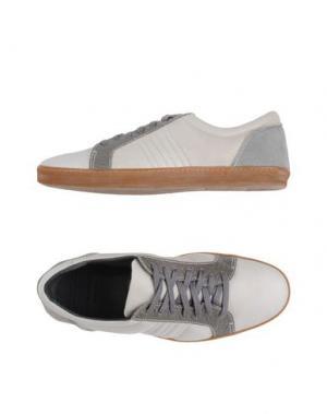 Низкие кеды и кроссовки FLORIAN DENICOURT. Цвет: светло-серый