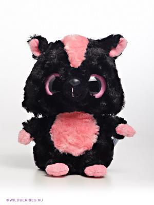Полосатый скунс, 20 см Aurora. Цвет: черный, розовый
