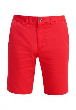 Шорты Burton Menswear London. Цвет: красный