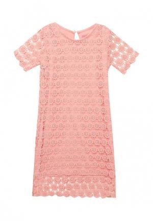 Платье Modis. Цвет: коралловый
