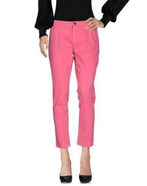 Повседневные брюки TOY G.. Цвет: коралловый