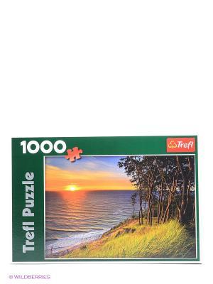 Пазл Балтийское море при закате солнца Trefl. Цвет: оранжевый