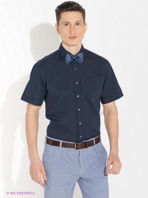Рубашка Alfred Muller. Цвет: темно-синий