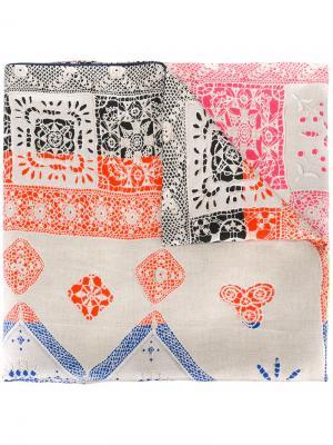 Объемный платок Pierre-Louis Mascia. Цвет: многоцветный