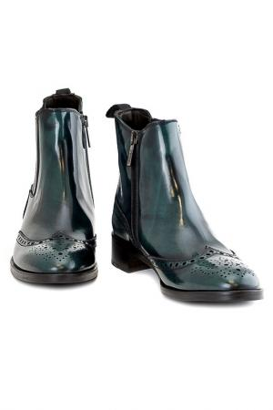 Ботинки Sutor Mantellassi. Цвет: зеленый