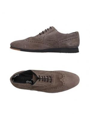 Обувь на шнурках ANDREA VENTURA FIRENZE. Цвет: серый
