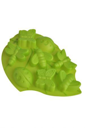 Форма для выпечки Regent Inox. Цвет: зеленый