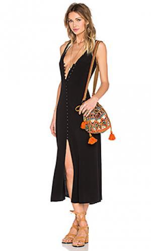 Платье lomax Privacy Please. Цвет: черный