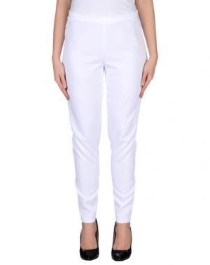 Повседневные брюки DANIELA DREI. Цвет: белый