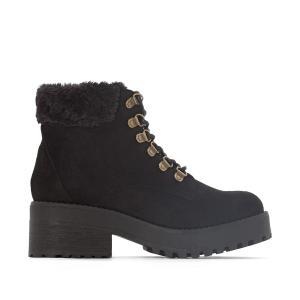 Ботинки на шнуровке Moscu COOLWAY. Цвет: каштановый,черный