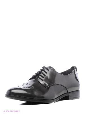 Ботинки Tamaris. Цвет: антрацитовый, черный