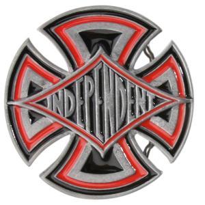 Пряжка  Diamond Cross Belt Buckletrinkets Mens Independent. Цвет: серый,красный