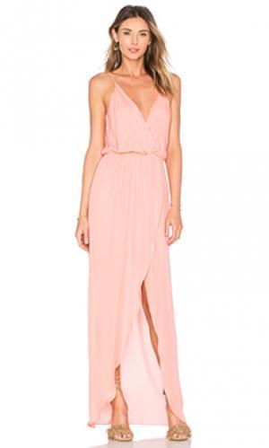 Вечернее платье jones Rory Beca. Цвет: коралл