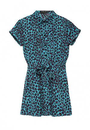 Платье Jacob Lee. Цвет: бирюзовый