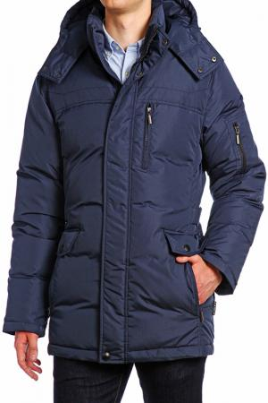 Куртка XASKA. Цвет: синий
