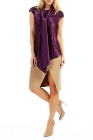 Блуза TOK. Цвет: фиолетовый