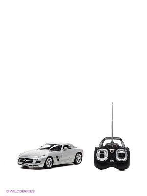 Mercedes-Benz SLS AMG на РУ с аккумулятором, машины KAISER. Цвет: серый