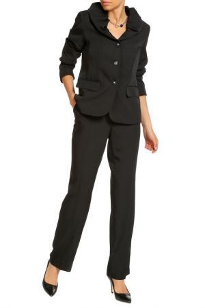 Брючный костюм HELENA VERA. Цвет: черный