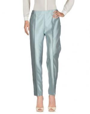 Повседневные брюки MARTA PALMIERI. Цвет: небесно-голубой