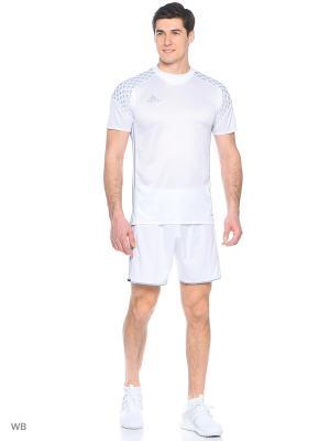 Спортивные шорты Adidas. Цвет: белый