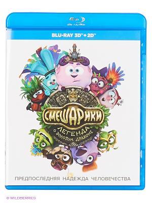 Смешарики. Легенда о золотом драконе (Blu-ray) (2D+3D) НД плэй. Цвет: белый