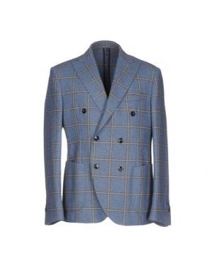 Пиджак DOMENICO TAGLIENTE. Цвет: грифельно-синий