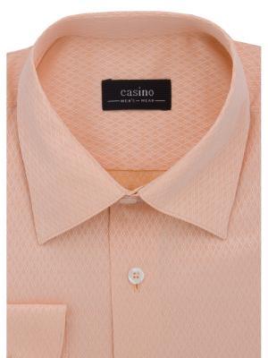 Рубашка CASINO. Цвет: оранжевый