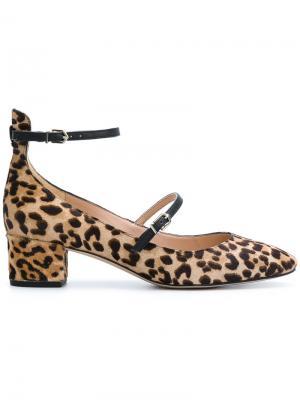 Lulie leopard pumps Sam Edelman. Цвет: коричневый