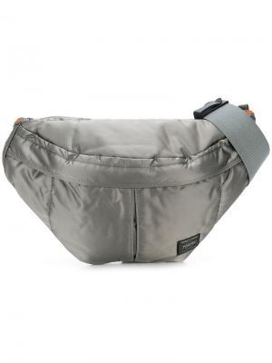 Поясная сумка Tanker Porter-Yoshida & Co. Цвет: серый