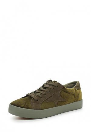 Кеды Sweet Shoes. Цвет: зеленый
