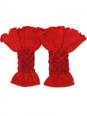 Knit cuffs Andrea Bogosian. Цвет: none
