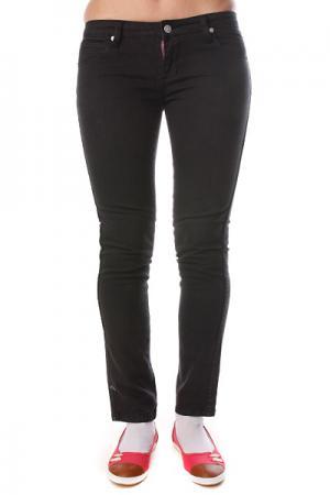 Джинсы узкие женские  Tori Skinny Pants Black Ezekiel. Цвет: черный