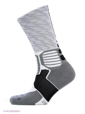 Носки KD HYPERELITE BASKETBALL CREW Nike. Цвет: серый, белый