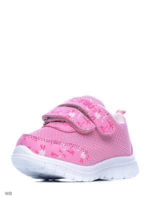 Кроссовки Mursu. Цвет: розовый
