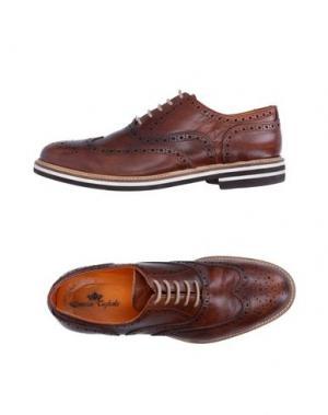 Обувь на шнурках DOMENICO TAGLIENTE. Цвет: коричневый