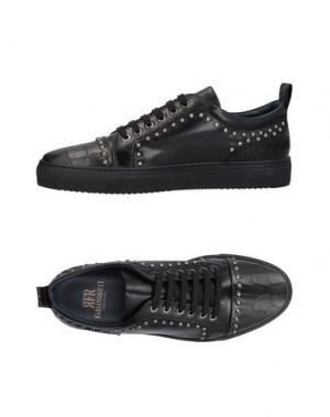 Низкие кеды и кроссовки FABIANO RICCI. Цвет: черный