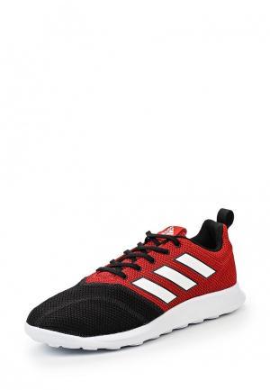 Бутсы зальные adidas Performance. Цвет: красный