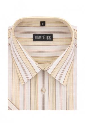 Рубашка Berthier. Цвет: желтый