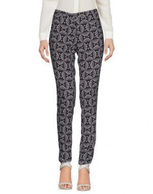 Повседневные брюки AISHHA. Цвет: черный