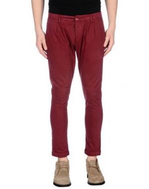 Повседневные брюки - -ONE > ∞. Цвет: пурпурный