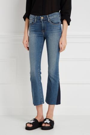 Расклешенные джинсы Frame Denim. Цвет: синий