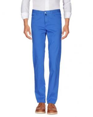 Повседневные брюки VERDERA. Цвет: синий