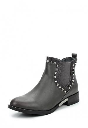 Ботинки Style Shoes. Цвет: серый