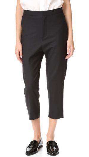 Идеально скроенные брюки Secret Superfine. Цвет: голубой