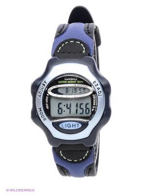 Часы Casio LW-24HB-6A. Цвет: голубой, синий, черный