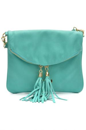 Bag ANNA LUCHINI. Цвет: turquoise