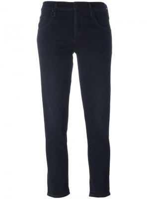 Укороченные расклешенные джинсы Citizens Of Humanity. Цвет: чёрный