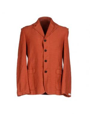 Пиджак MAESNA. Цвет: ржаво-коричневый