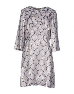 Короткое платье SUNO. Цвет: небесно-голубой